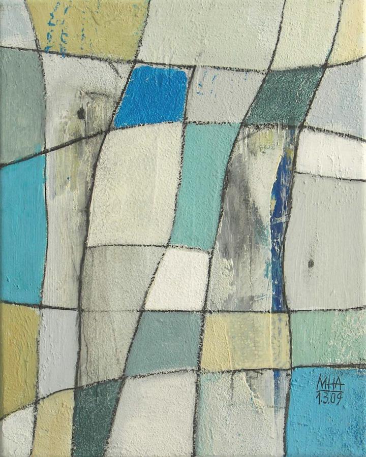 Nr.1 Fantasie in Linien, 24x30, 2009