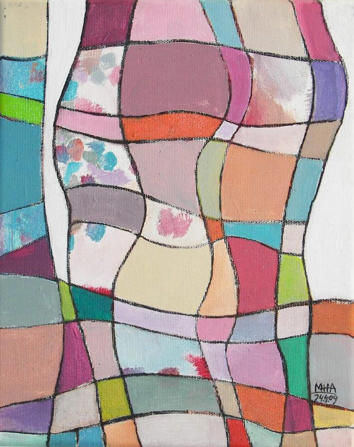 Nr.12 Fantasie in Linien, 24x30, 2009