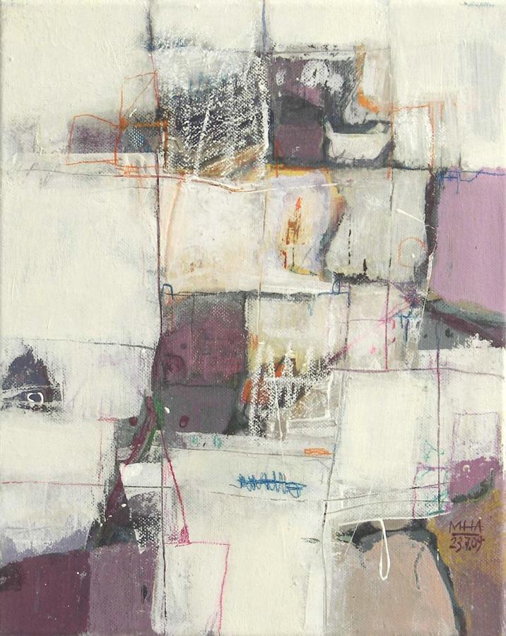 Nr.22 Fantasie in Linien, 24x30, 2009