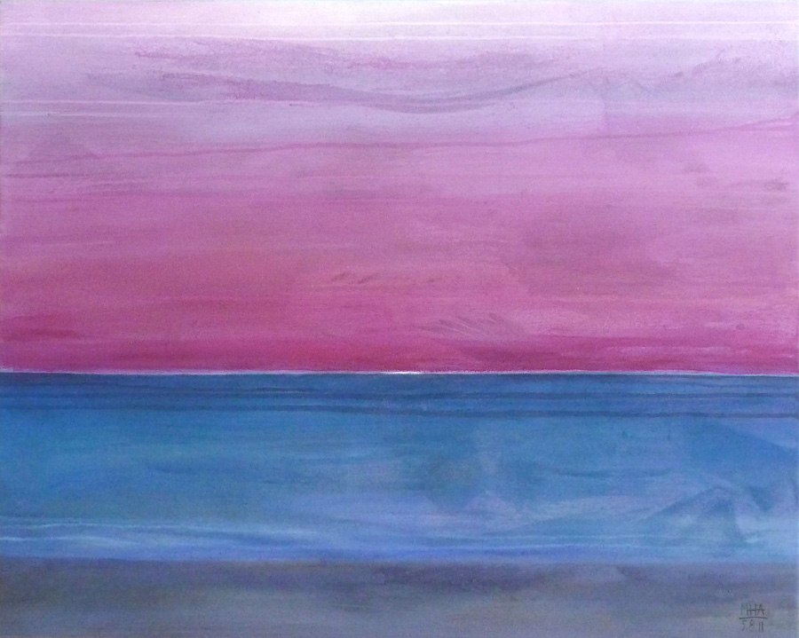 Horizont 3, 80x100, 2011