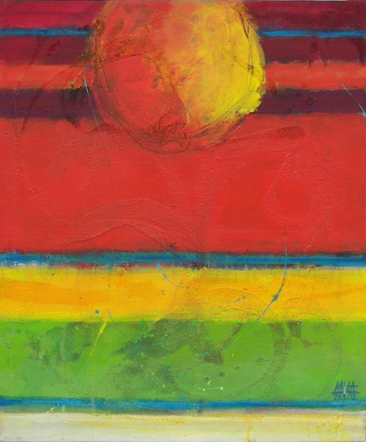 Tapiz 19, 50x60, 2002