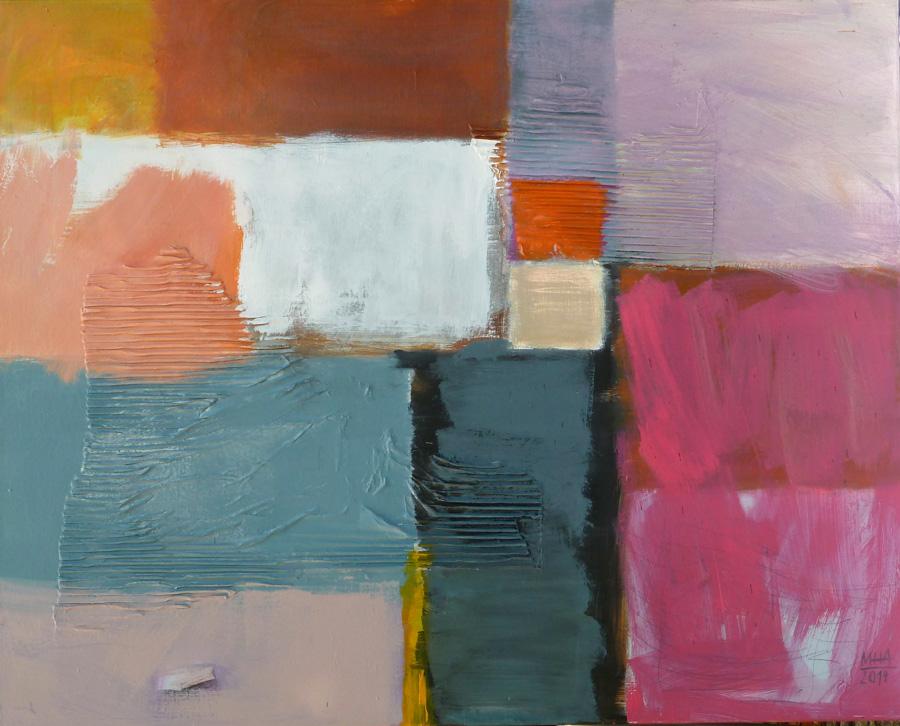 Felder, 80x100, 2014