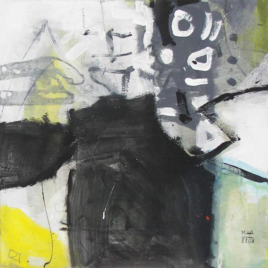 Ohne mich I, 50x50, 2008