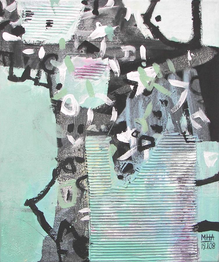 rätselhaft, 50x60, 2008