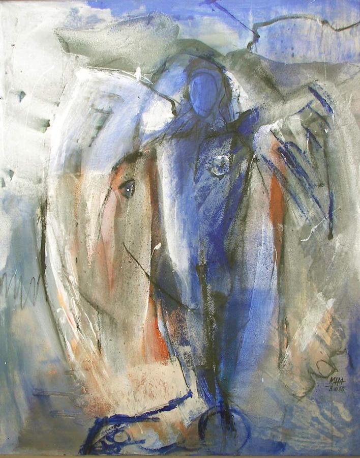 Erzengel, 80x100, 2000