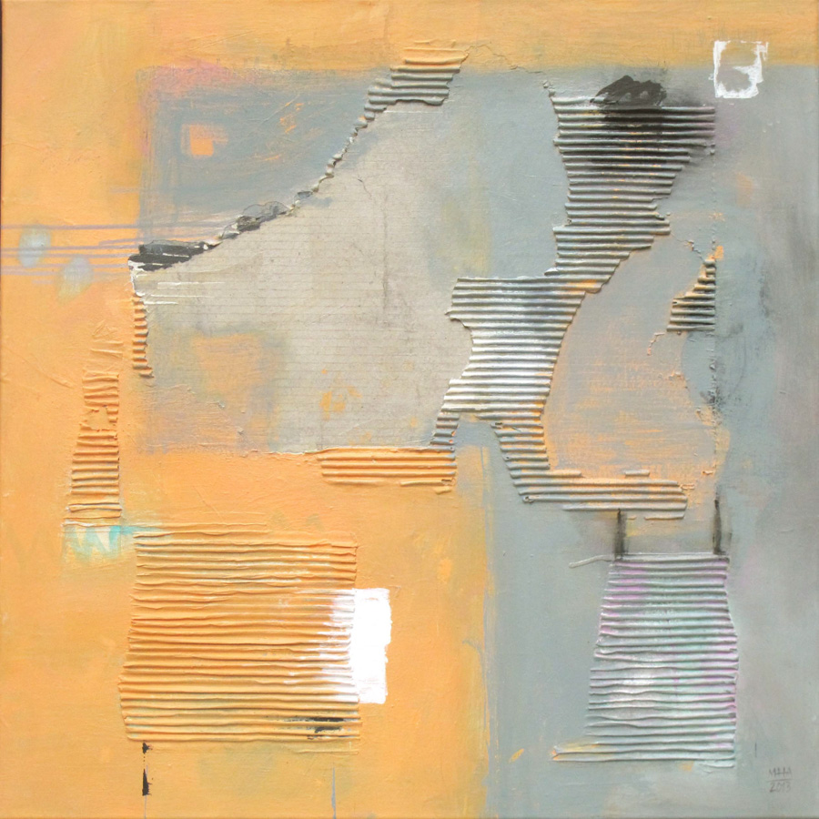 Orange-Grau, 80x80, 2013