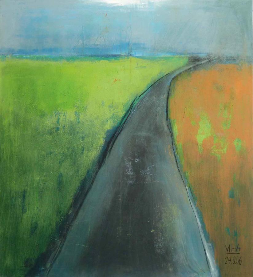 Weg 1, 100x100, 2006