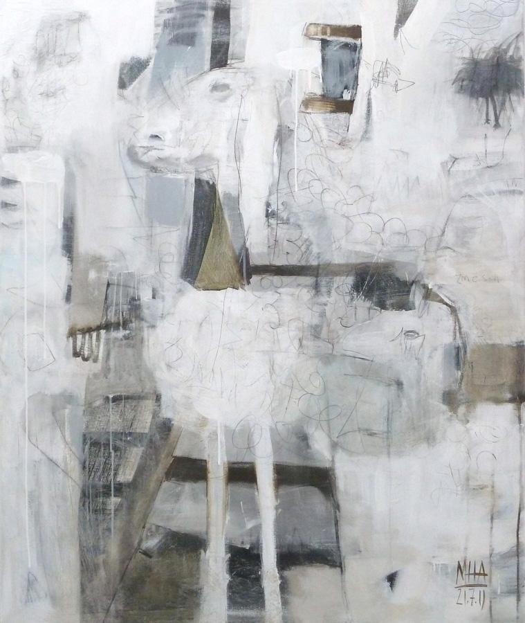 z.m.e. Schaf, 100x12, 2011