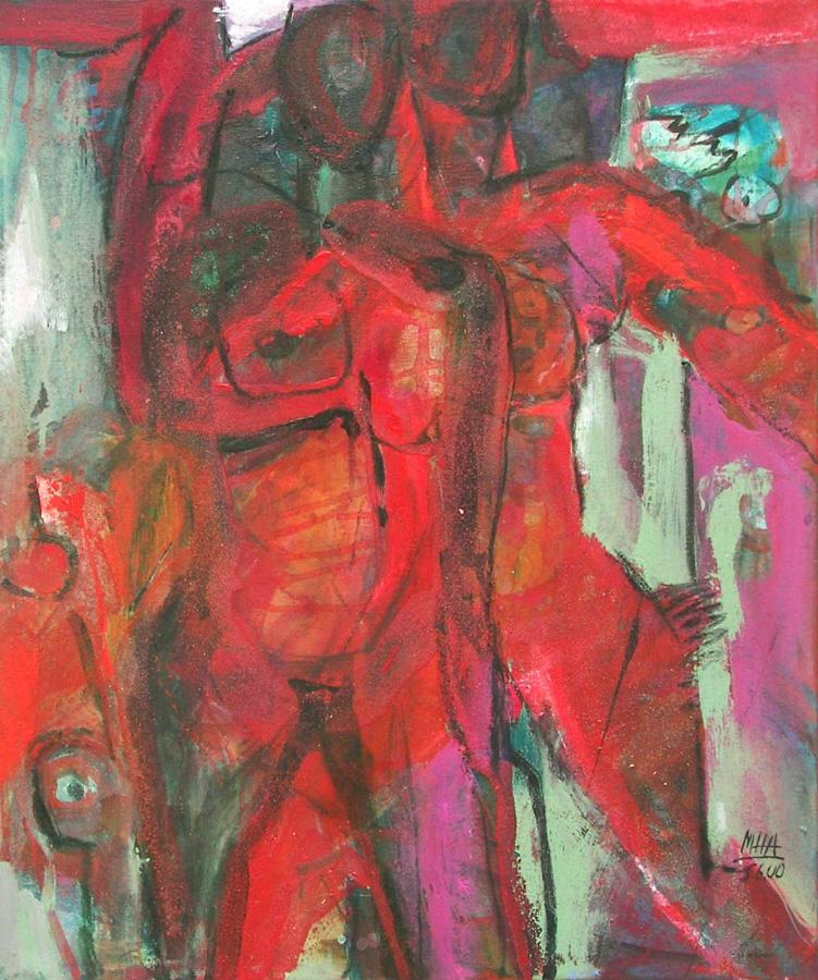 im Paradies, 50x60, 2000