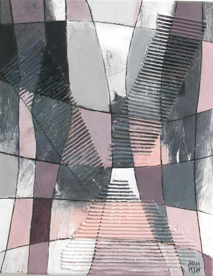 Fantasie in Linien VI, 40x50, 2009