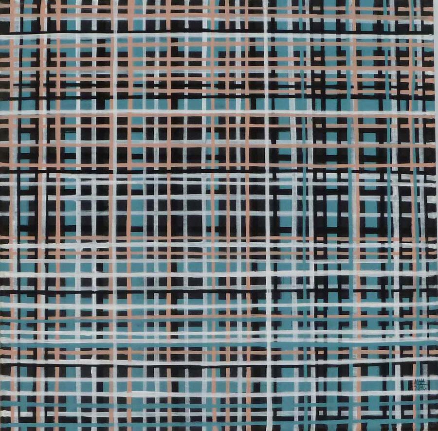 Linien, 40x40, 2015