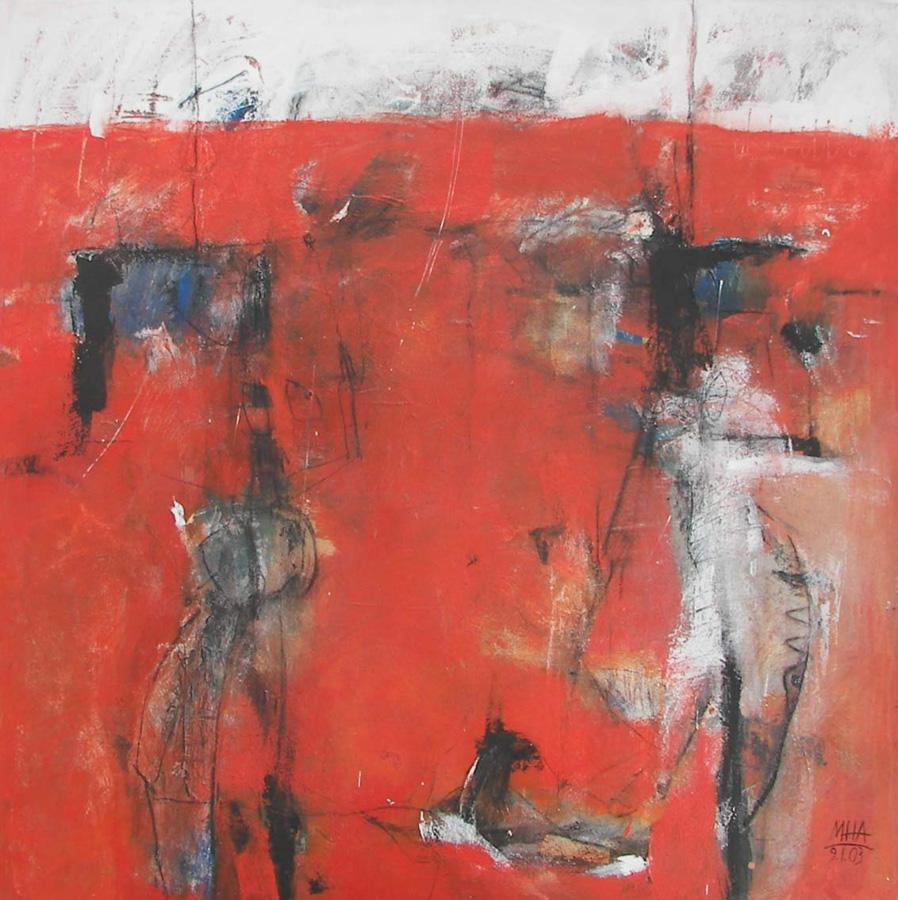 Zirkus, 100x100, 2003