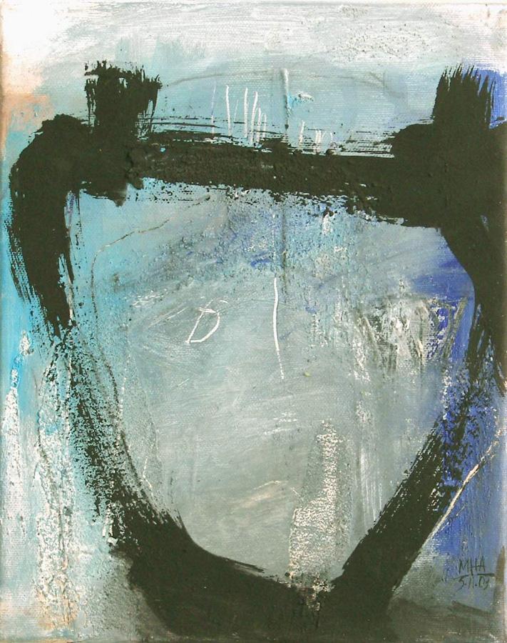 Kopf, 24x30, 2003