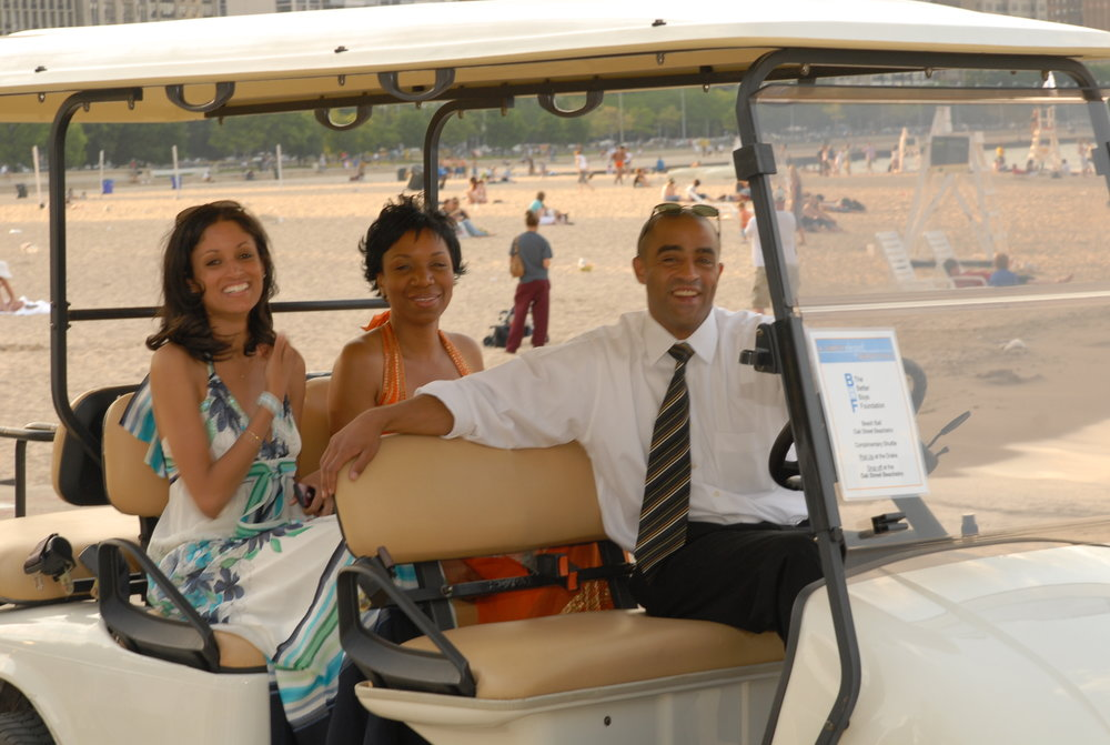 Event Arrival in Golf Carts