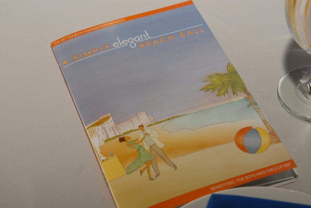 Event Program Book Design