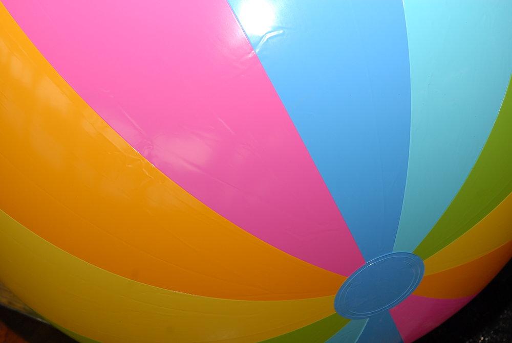 A beach ball for the beach ball gala