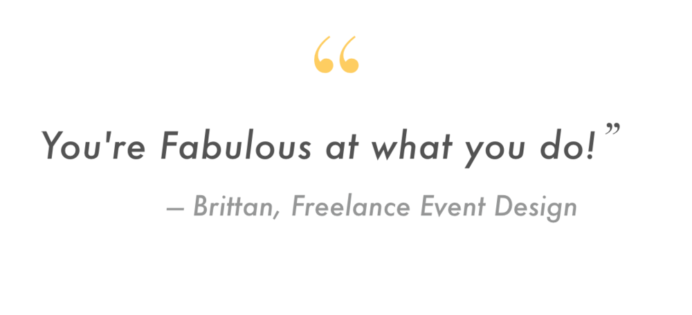 business event management youre fabulous at what you do