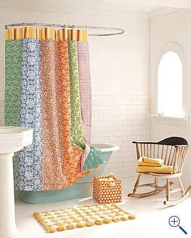 Ordinaire Photography By Garnet Hill. Claire Reversible Shower Curtain