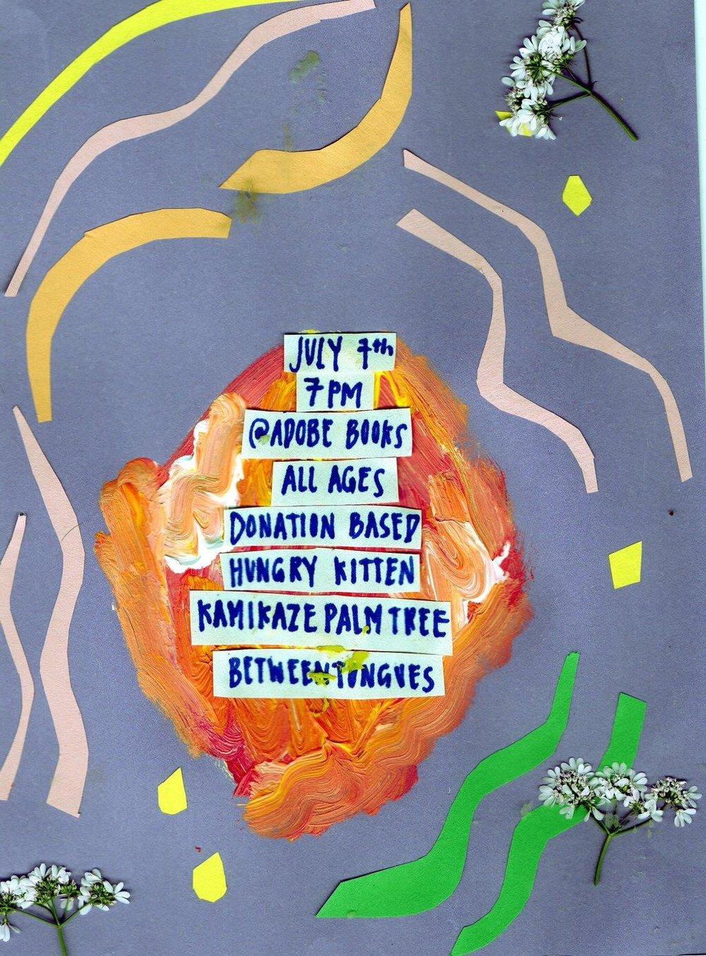 flyer design:Gabriella Mayarii