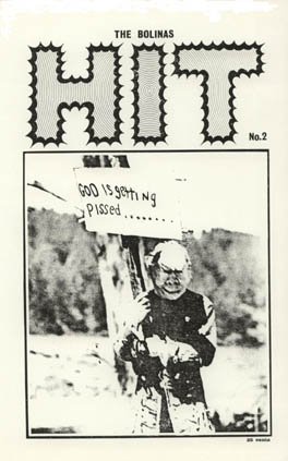 Local publication  The Bolinas Hit , No. 2, 1969