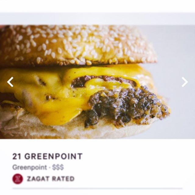Big thanks to @zagat for putting us on a list of best restaurants in Greenpoint. We love our neighborhood and we love our buddies here! Come down and celebrate the best neighborhood in the best city in the world.