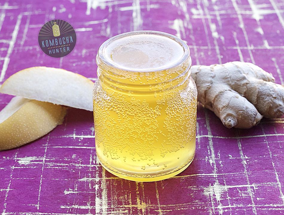 Asian pear ginger tea