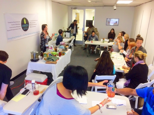 We taught an introductory brewing course to two sold-out crowds at Artisanal LA