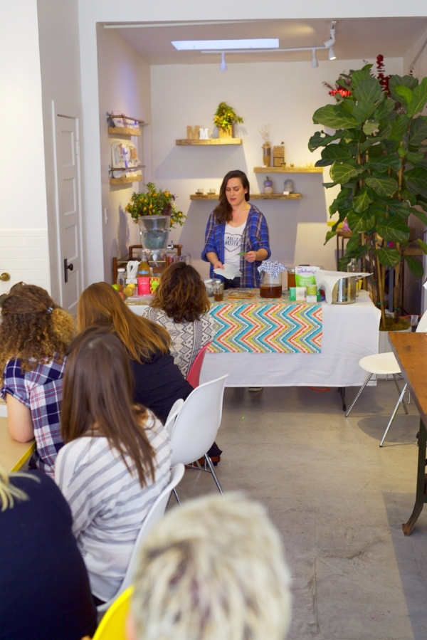 Our home-brewing course at Makers Mess in Silver Lake drew two sold-out crowds on the same day.