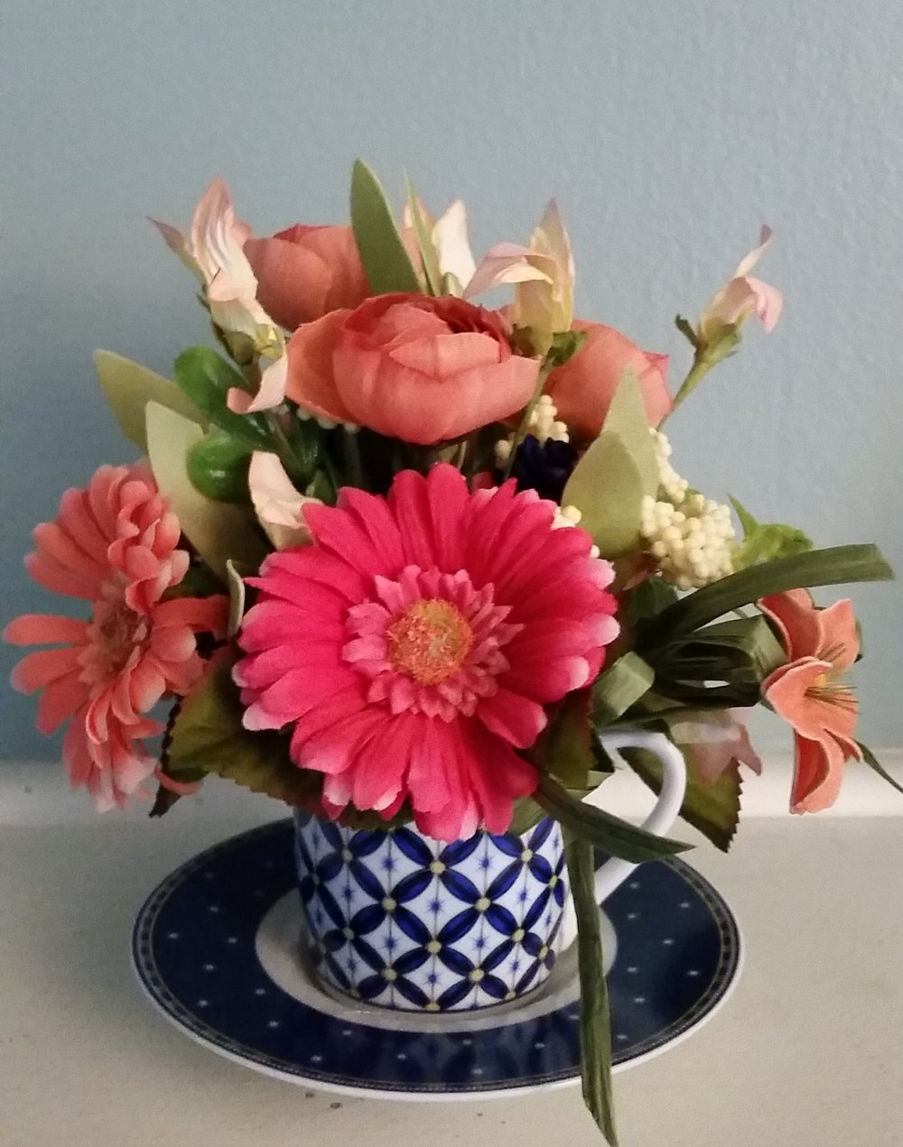 Tea Cup Arrangement - Starting at $18