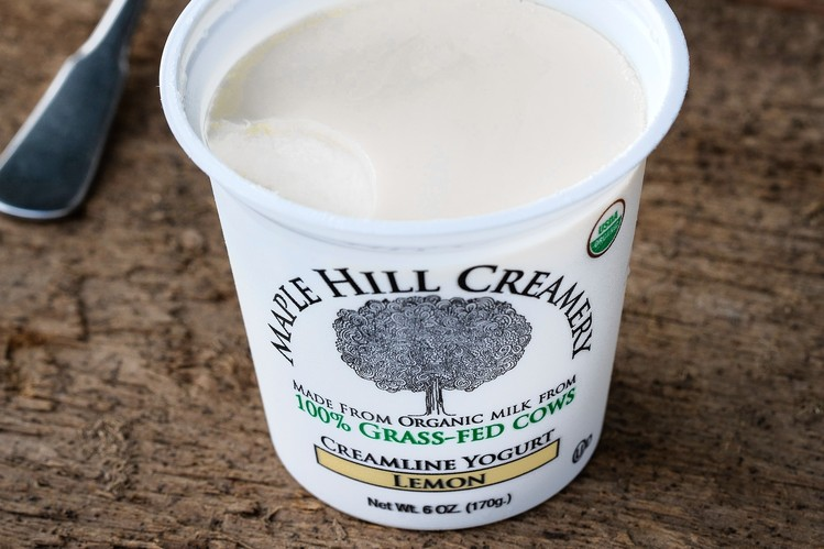 nowadays you can find organic, grass-fed yogurt on many supermarket shelves.