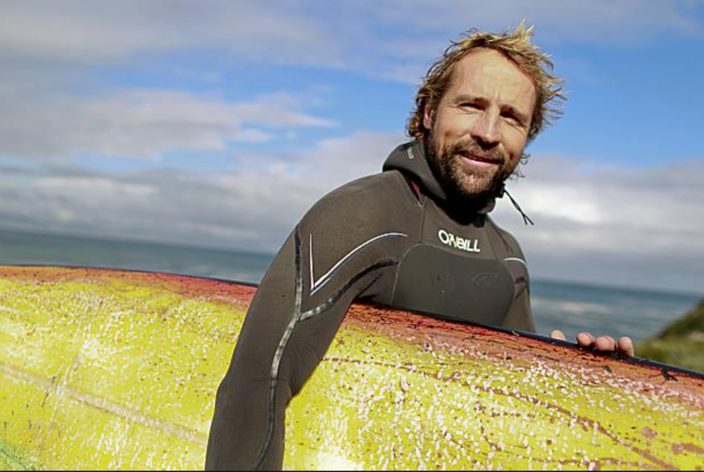 Andrew Marr  Smiliest, Happiest Surfer on the Planet / Big Wave Charger / Solid Human