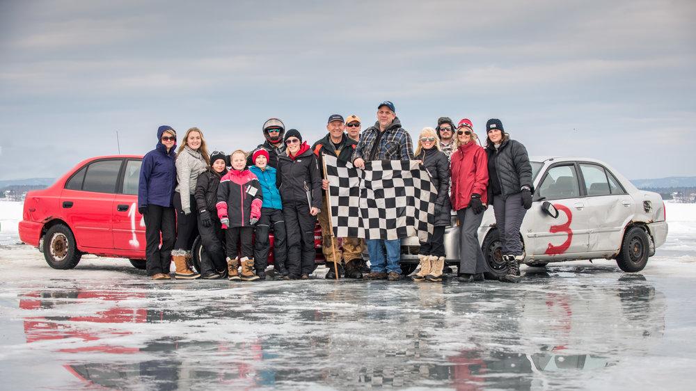 The 2018 Ice Racing Team, Pembroke Ontario