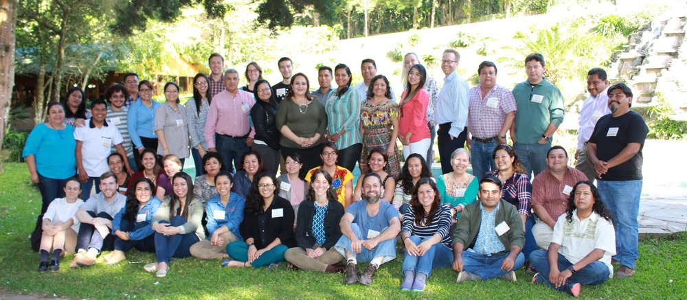 Defender Network members and Justice in Motion staff at the Defender Network regional event in November 2017 in El Salvador.