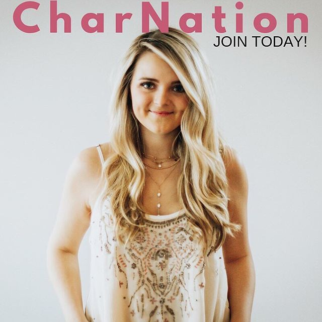JOIN CharNation NOW!! Link in bio! 💗💗💗