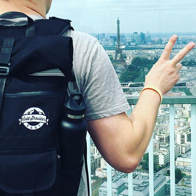 Bonjour. #coldshoulderbags #coldshoulder #coolerbags #backpack #cooler #backpackcooler #beer #paris#travel #europe #beerpack #beercooler #beerlife #cold #beerme #wherecanyourcoolergo #mountainlife  #getoutside #commuter #stayfrosty #stayfrostyfriends