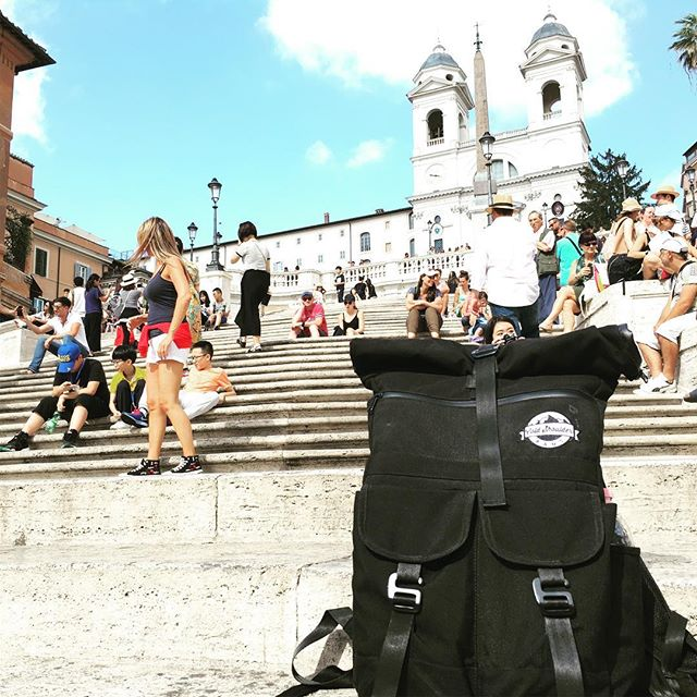 Our coolers travel! Black Friday Sale going on now! • • • • • • #coldshoulderbags #coldshoulder #coolerbags #backpack #cooler #backpackcooler #beer #beerpack #beercooler #beerlife #cold #startup #wander #travel #beerme #italy #roma #italia #tourist #spanishsteps #wherecanyourcoolergo #mountainlifestyle #getoutside #stayfrosty #stayfrostyfriends