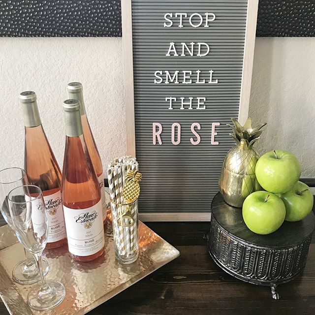 It's officially Summer and I'm just over here stockpiling rośe like it's the apocalypse🙋🏼🍷 #roseallday