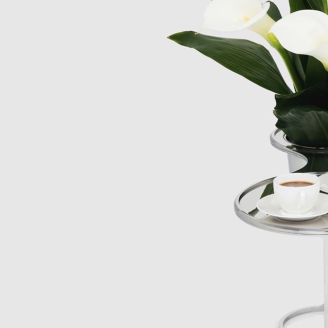 glint side table  coffee | champagne  designed in london