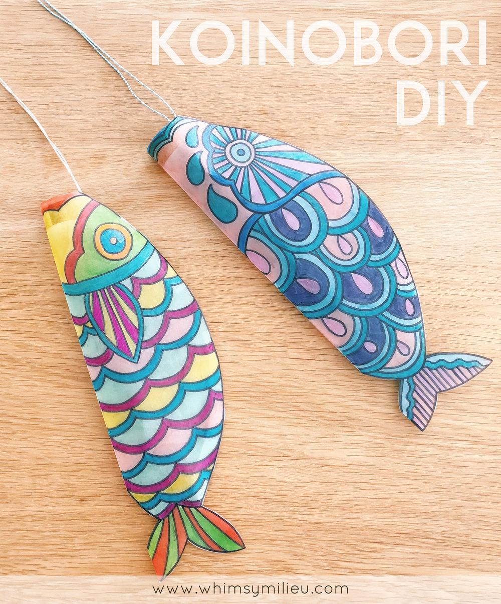 Koinobori (Japanese Carp Streamer) DIY