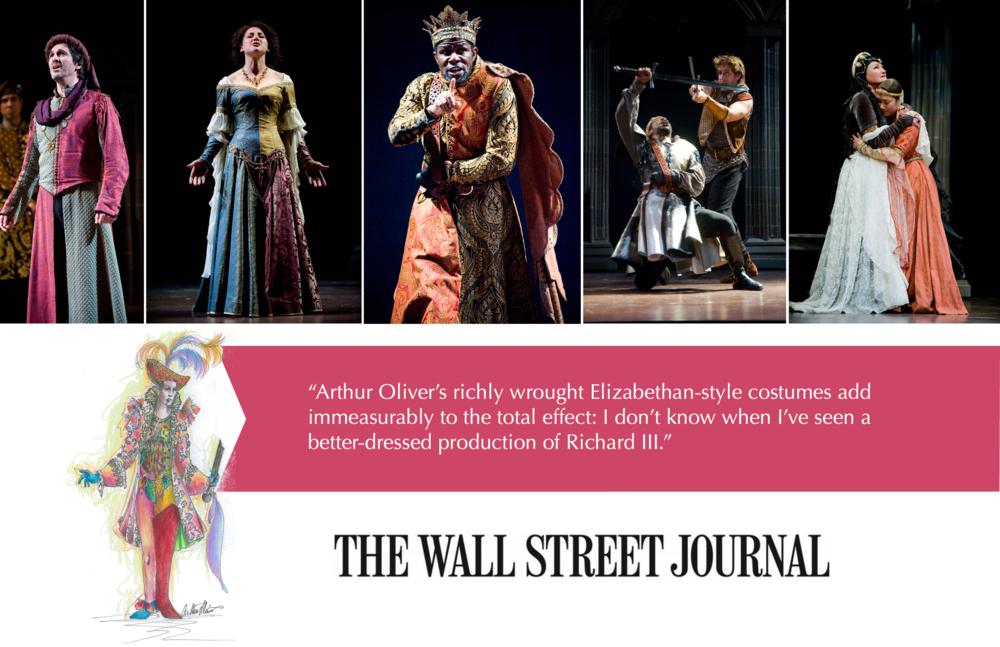 The Wall Street Journal Costume Designer Arthur Oliver