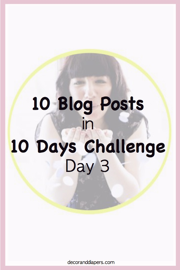 10 in 10: Day 3- A Stylish Way to Organize Clutter