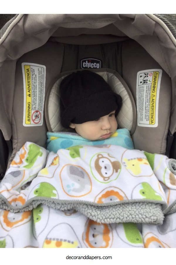 10 in 10: Day 4- How to Decide if Your Baby Still Needs an Infant Insert in the Car Seat