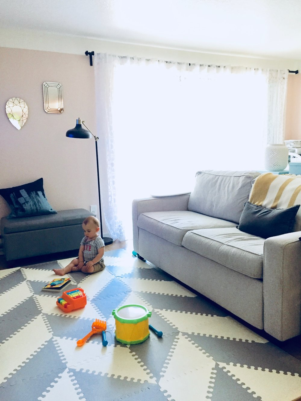 A Play Mat That Looks Good in Your Living Room