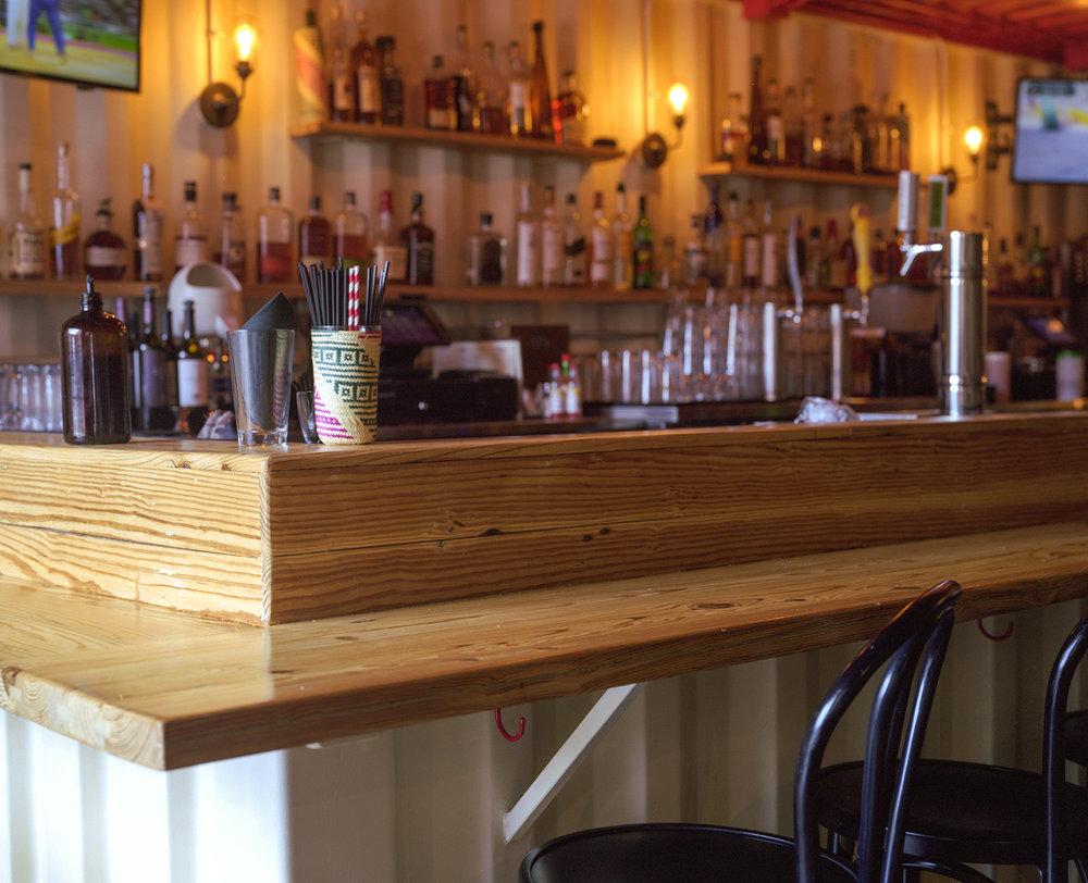 Custom Bar + Counter Top