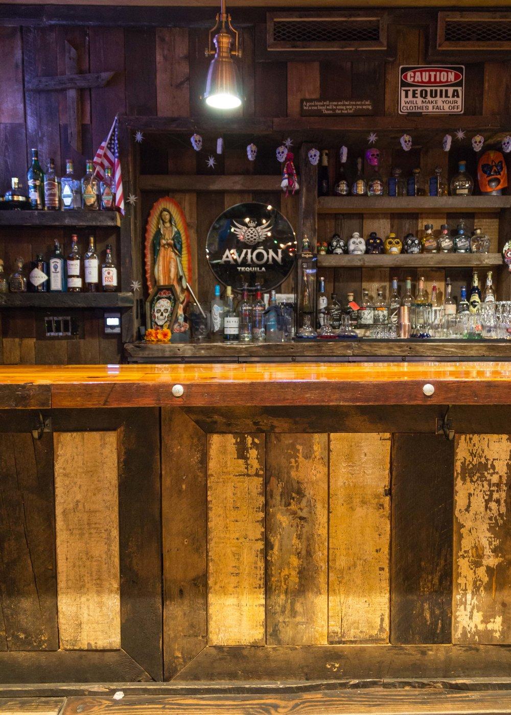Custom, Reclaimed Bar