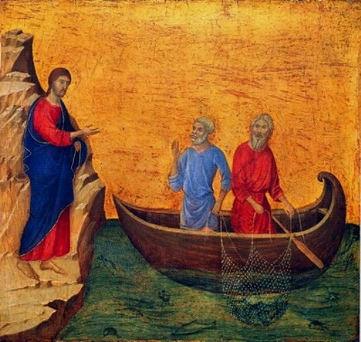 Jesus Calls St. Peter