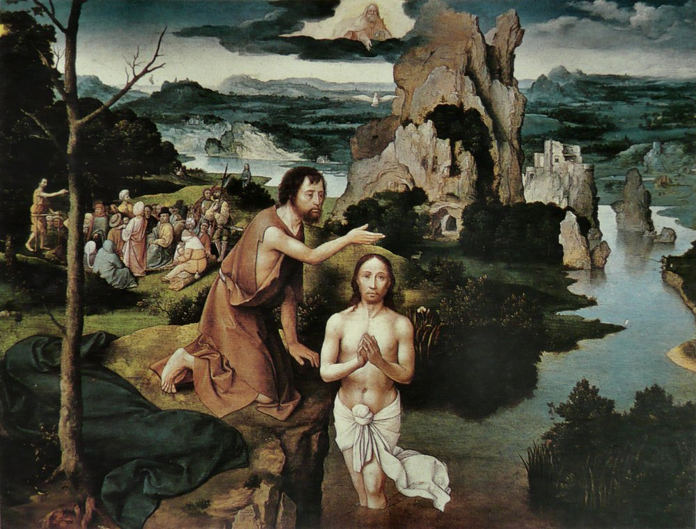 The Baptism of Jesus by St. John the Baptist
