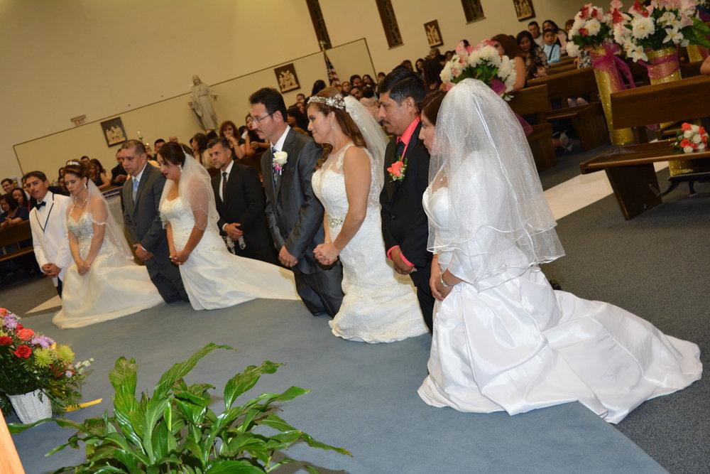 Matrimonios en Cristo