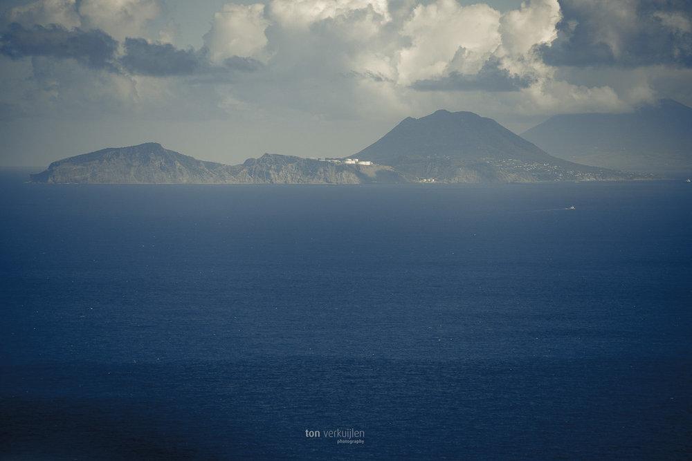 St. Eustatius from Saba