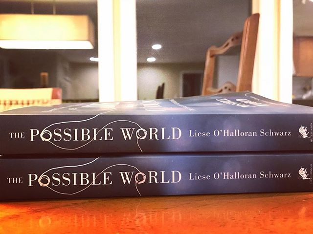 UK advance copies arrived in my mailbox yesterday! Only seven months to go 😁 #thepossibleworld #thepossibleworldbook